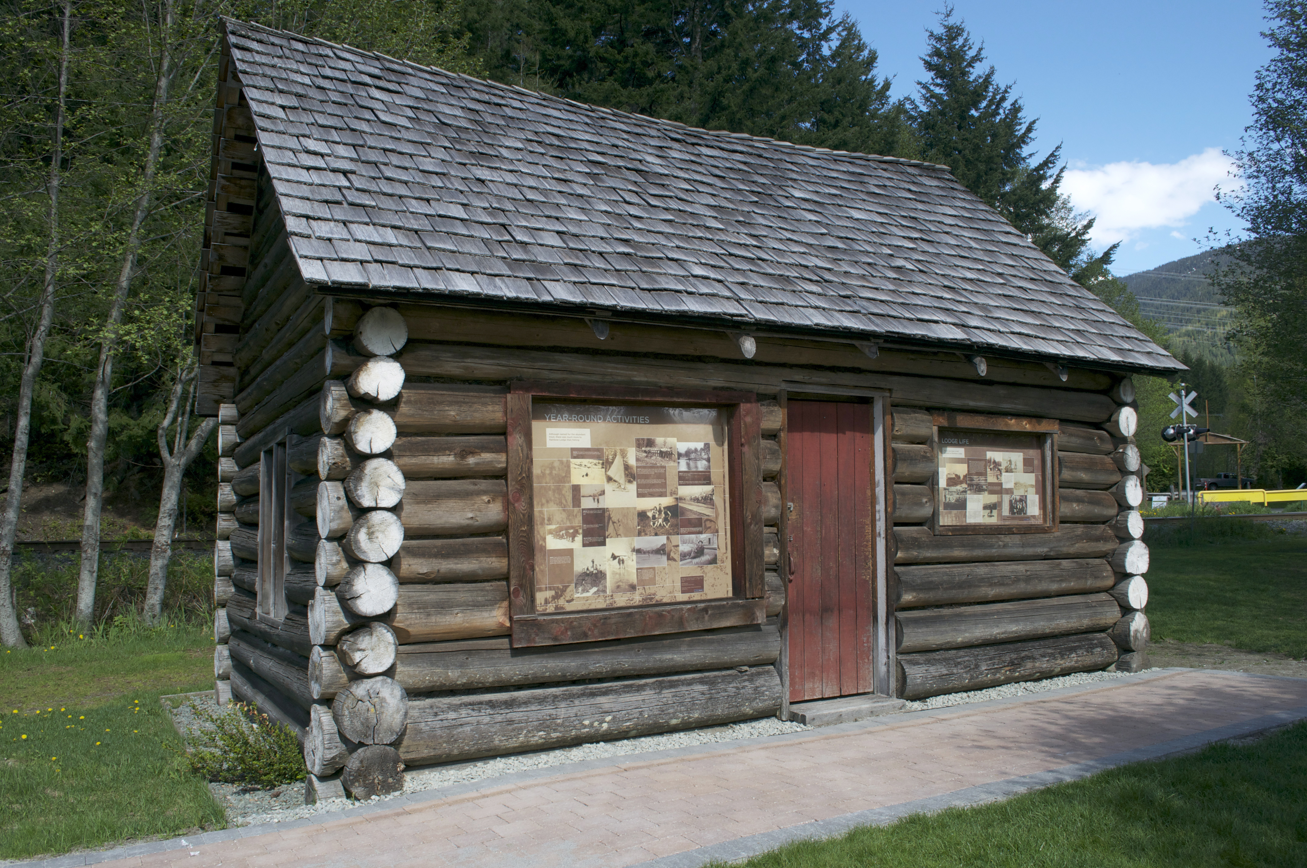 Whistler museum and archives whistorical for Cabine in whistler