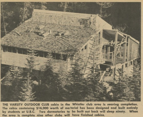 From Ski Trails, January 1966