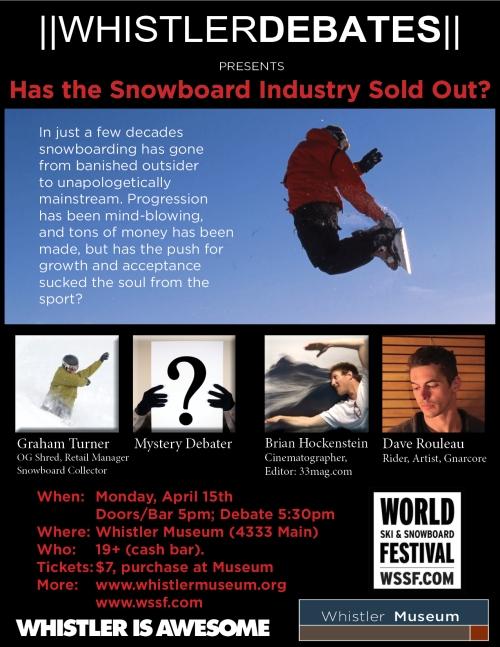 WSSF Debate poster