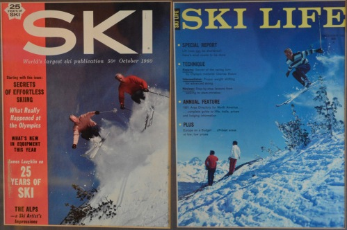 Before becoming a successful resort management bigwig, Jack was a ski star in his own right. Here are two magazine covers he bagged in 1960, while he was working as a ski instructor in Mammoth, California.