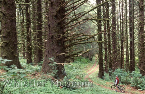 Mountain Biking Whistler, early 1990s.