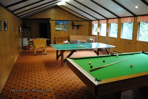 The Games Room, today. Very little has changed over the years. Jeff Slack photo.