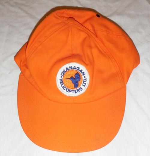 The hat in all its orange glory.