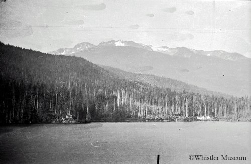 Believed to be Ernie Archibald's residence on Alta Lake, ca. 1930. Smith Collection