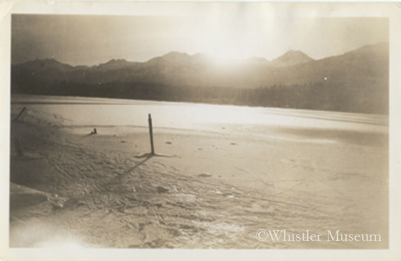 Ice on Alta Lake, ca. 1935. Philip Collection