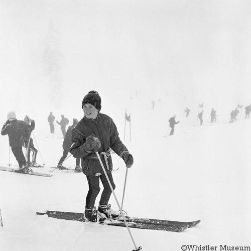 Tyrol Giant Slalom, 1967. Photograph by Frank Grundig.