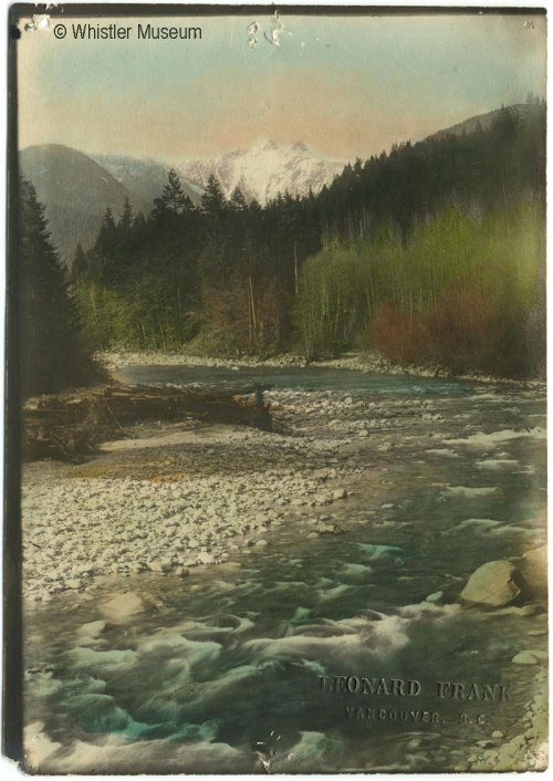 Capilano River, ca. 1925. Philip Collection.