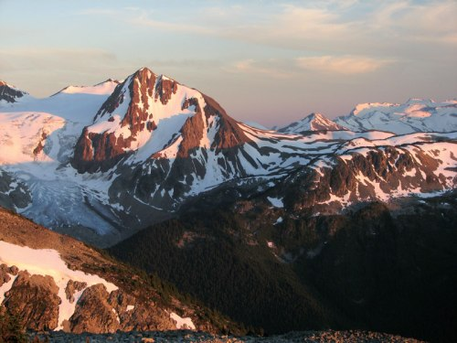 Whistler's oldest rocks are found on Fissile Peak