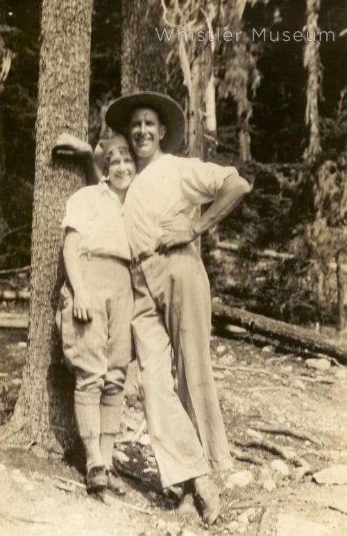 Grace and Dr. Baldwin Naismith, circa 1920.