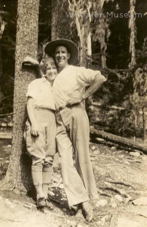 Grace and Dr. Baldwin Naismith, circa 1920.