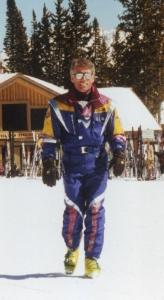 Lorne Borgal ski photo