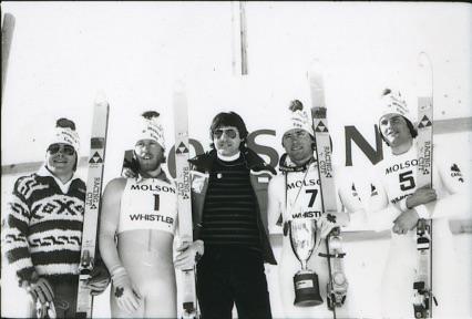 Crazy Canucks FIS 1979 Whistler