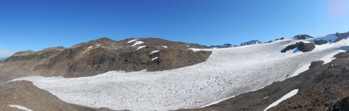 Helm Glacier Panorama. Jeff Slack photo.