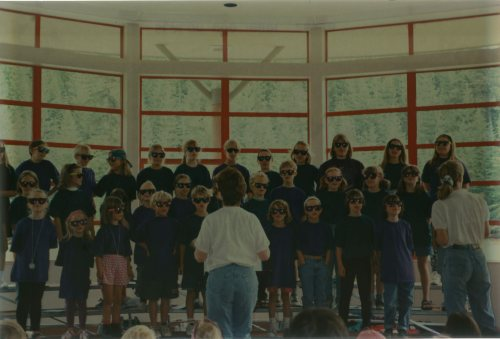 The Whistler Children's Chorus performing Hakuna Matata, 1995