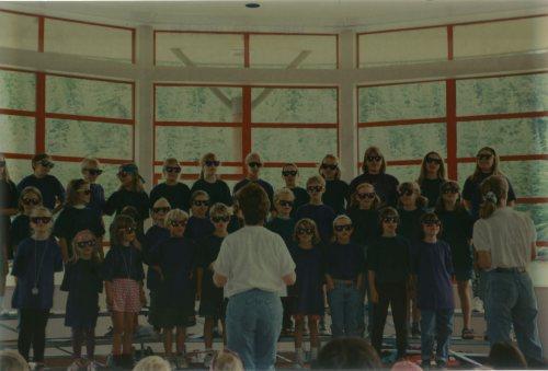 The Whistler Children's Chorus performing Hakuna Matata, 1995